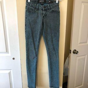 Lip Service Jeans Size0 Acid Wash Skinny
